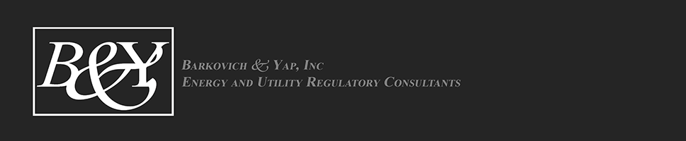 Barkovich & Yap, Inc. Energy and Utility Regulatory Consultants